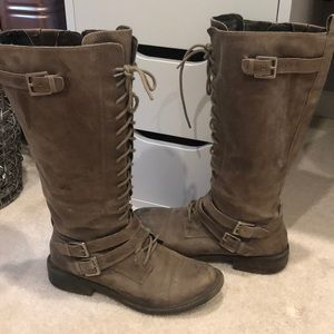 Lucky Brand combat boots